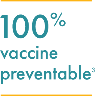 Graphic that explains rabies is a 100% preventable disease.